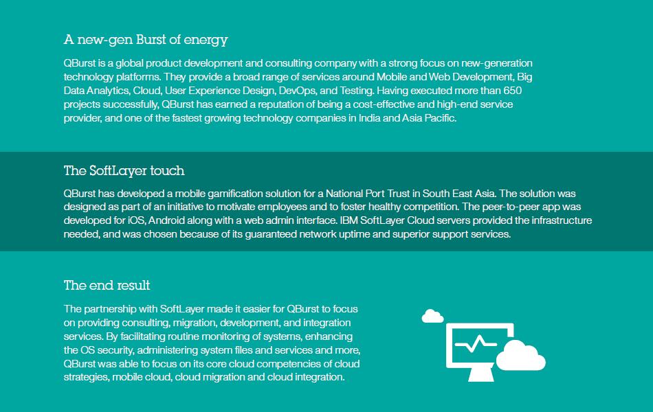 QBurst featured in IBM Cloud solutions brochure
