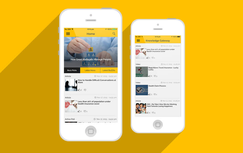 Mobibuzz - a gamified eLearning app